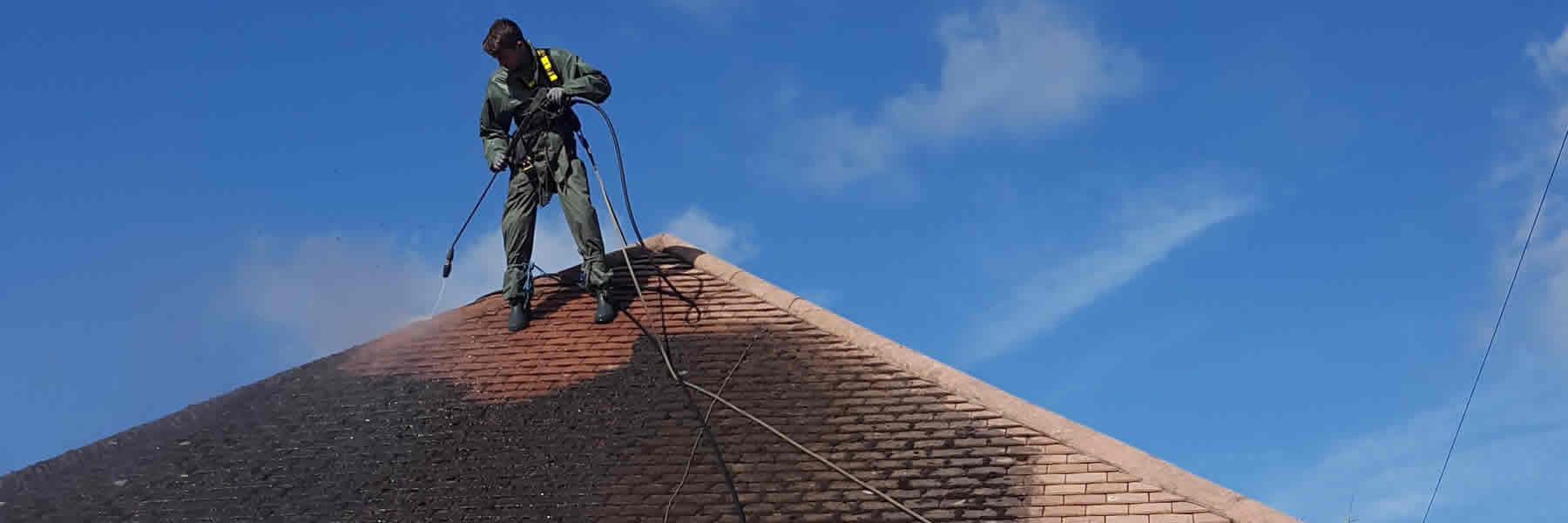 roof cleaning West Sussex